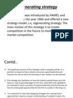 Regenerating Strategy Ppt