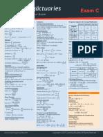 2017 c Formula Sheet