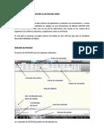 curso autocad INTRODUCCION
