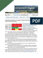 Pa Environment Digest June 4, 2018