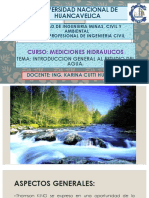 Mediciones Hidraulicas Clase 1