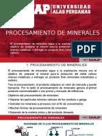 3. Procesamiento de Minerales