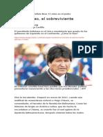 El presidente de Bolivia lleva 11 años en el poder.doc
