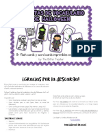 Halloween Flashcards Todo-horizontal