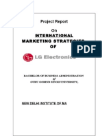 Marketing Strategy-LG Electronics