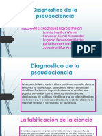 Diagnostico de La Pseudociencia