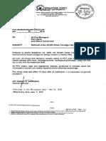 Philippine Ports Authority MC 009-2018