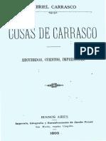 Carrasco, Gabriel - Cosas de Carrasco