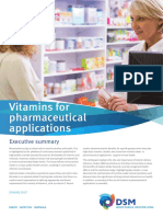 Whitepaper Vitamins for Pharmaceutical Applications