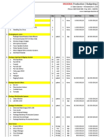 Budgeting Revisi Maxima 3 Dgn LED