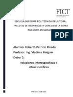 Relaciones Intraespecifica e Interespecifica_Roberth_Pineda