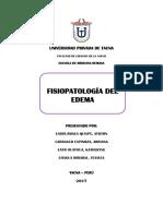 Monografía Edema