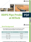 HiTech Pipe Production kotri