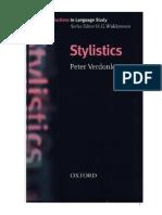 Stylistics by Peter Verdornk