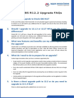 Oracle EBS R12 2 Upgrade FAQs