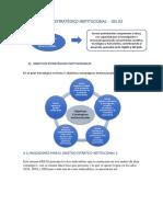 Matriz Del Plan Estratégico Institucional