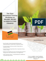 Two days specialized training workshop on Islamic Micro & Agriculture finance at Kenya