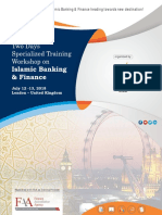 Two days specialized training workshop on Islamic Banking & Finance at UK