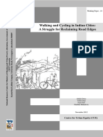 18CUEWP18_Walking and Cycling in Indian Cities a Struggle for Reclaiming Road Edges