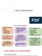 2.1.2 Pasos de La Planeación