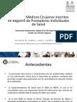 Presentaci n Registro de Prestadores Individuales en Salud