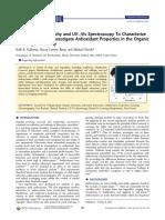 Anthocyanin characterization with paper chromatography