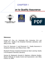 Chapter 1_Part 1 Introduction to Quality Assurance