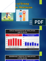 The Pattern of Young Marriage in Malaysia