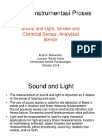 Bab delapan Sound and Light, Smoke and Chemical Sensor, Analytical Sensor