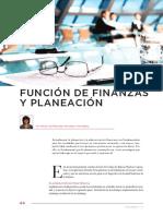 Función de Finanzas