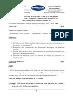 Recrutement Et Selection Des Ressources Humaines 3
