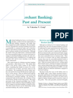 Merchant Banking Past and Present 2057