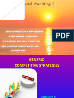 Ppt on Competitive Strategies