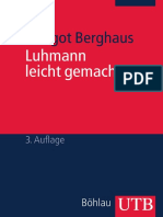 Luhmann Leicht Gemacht - Margot Berghaus