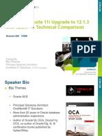 E-Business Suite 11i Upgrade to 12.1.3 A