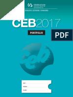Evaluation Certificative - CEB 2017 - Portfolio (Version Standard) (Ressource 13972)