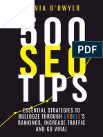 500 SEO Tips_ Essential Strategies to Bull - Silvia O'Dwyer