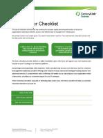 Data Center Checklist Po150692