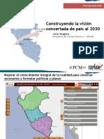 Vision Concertada Peru Al 2030
