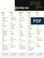 Fitness Meal Plan