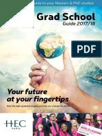 Qs Top Grad School Guide 2017-18 E-guide