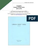 Szolgalat Lisieux i Szent Terez 1