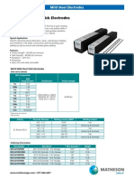 Propriedades Mecanicas Eletrodos MSMildSteelStick