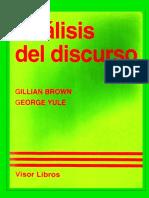 Brown -  Analisis Del Discurso (Incompleto)