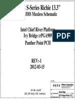HP Probook 4540s Schematics