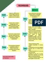 Mapa Mental Modelos Psicopatologicos