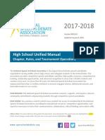 NSDA Manual 17-18