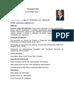 Curriculum Xavier- Administração