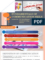 1. Types of Communications
