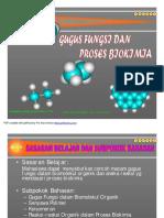 Minggu 1- Gugus Fungsi Dan Proses Biokimia